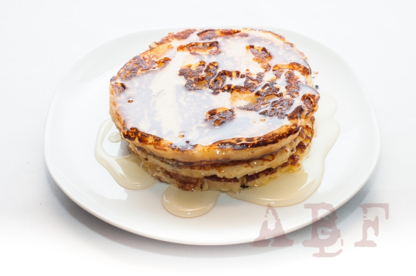 Tortitas americanas dulces con Agave_R