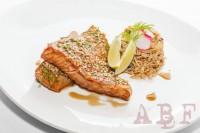 Salmón teriyaki con arroz basmati_R