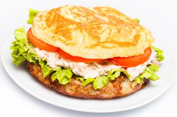 Tortilla de patata guarnecida  (4 pax)