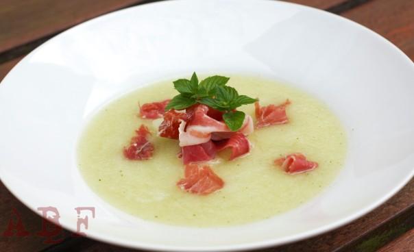 Sopa de melón y jengibre