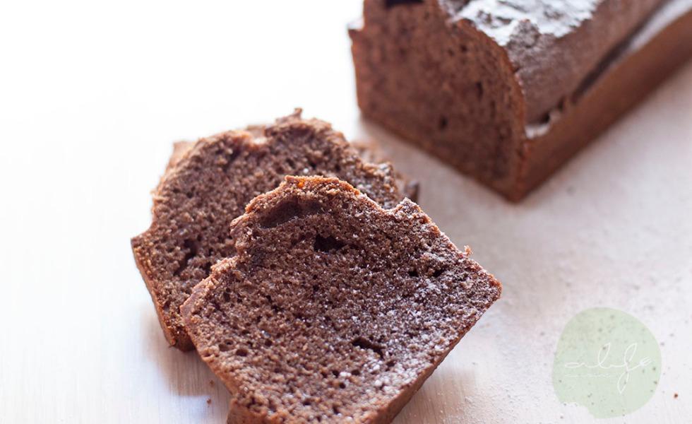 pastel cacao y cafe